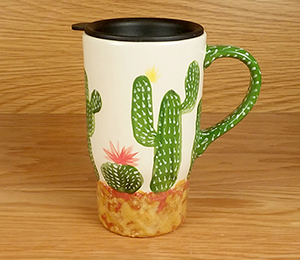 Burr Ridge Cactus Travel Mug