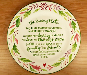Burr Ridge The Giving Plate