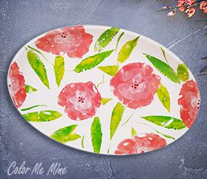 Burr Ridge Floral Paper Stamping