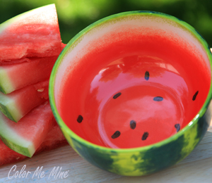 Burr Ridge Watermelon Bowl