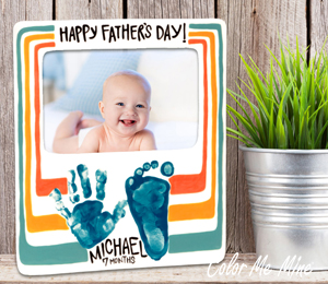 Burr Ridge Father's Day Frame