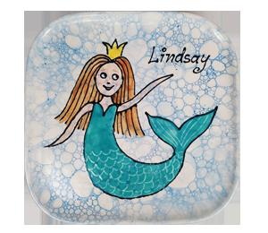 Burr Ridge Mermaid Plate