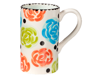Burr Ridge Simple Floral Mug
