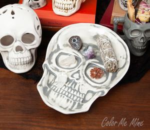 Burr Ridge Vintage Skull Plate