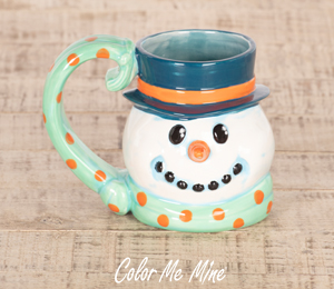 Burr Ridge Snowman Mug