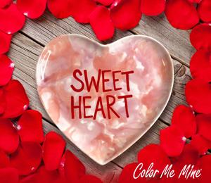 Burr Ridge Candy Heart Plate