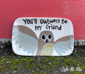 Burr Ridge Owl Plate
