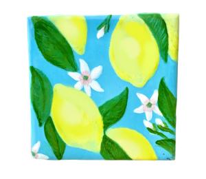 Burr Ridge Lemon Square Tile