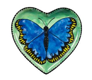 Burr Ridge Butterfly Plate