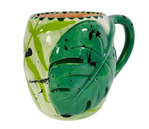 Burr Ridge Monstera Mug