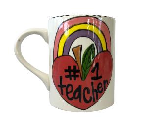 Burr Ridge Rainbow Apple Mug